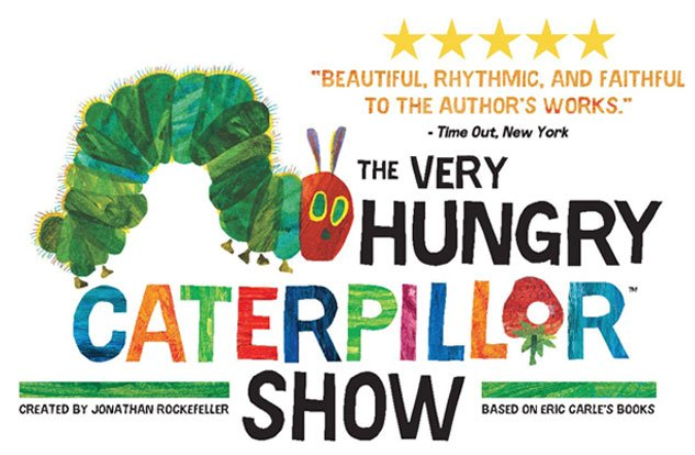 The very hungry caterpillar show the lighthouse theatre